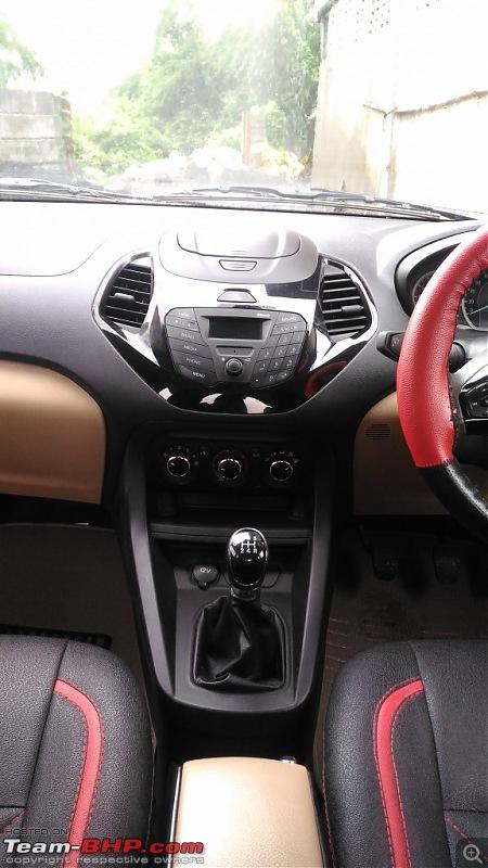 Ford Figo Aspire Trend - My little rocket-centre-console.jpg