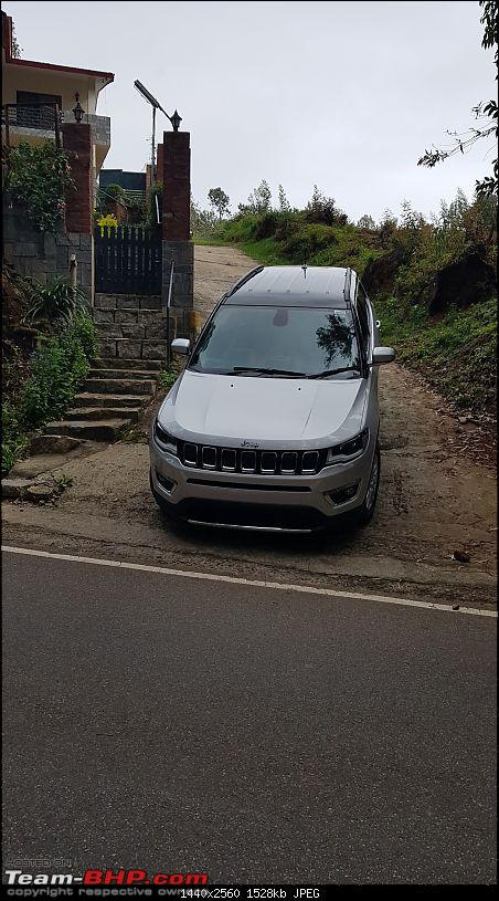 Jeep Compass Limited 4x4 : A review from the hills of Ooty-20170920_155447.jpg