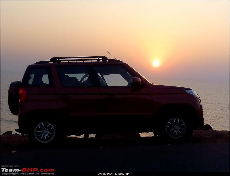 Orange Tank to conquer the road - Mahindra TUV3OO owner's perspective-img_20161227_180038.jpg