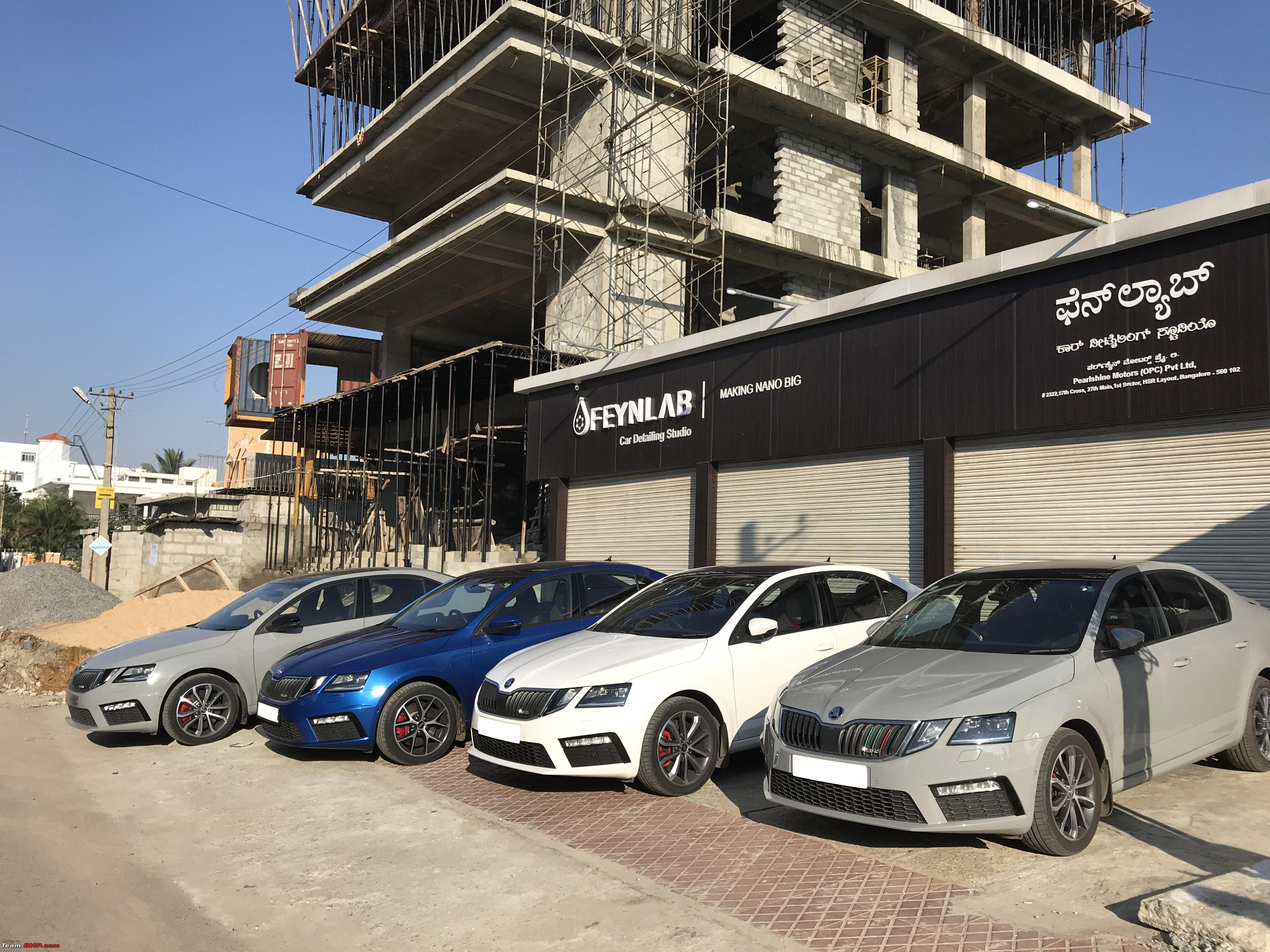 2017 Skoda Octavia vRS: 1 year and 36,000 kms, now with
