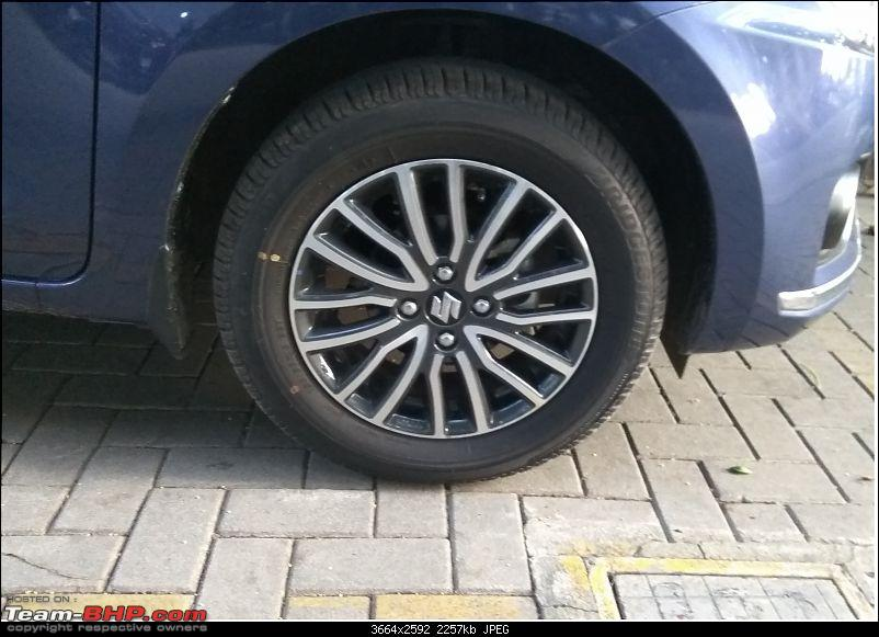 Heart vs Head  - It's what the head Dzires! My 2017 Maruti Dzire ZXI+ AMT-alloy-wheel.jpg