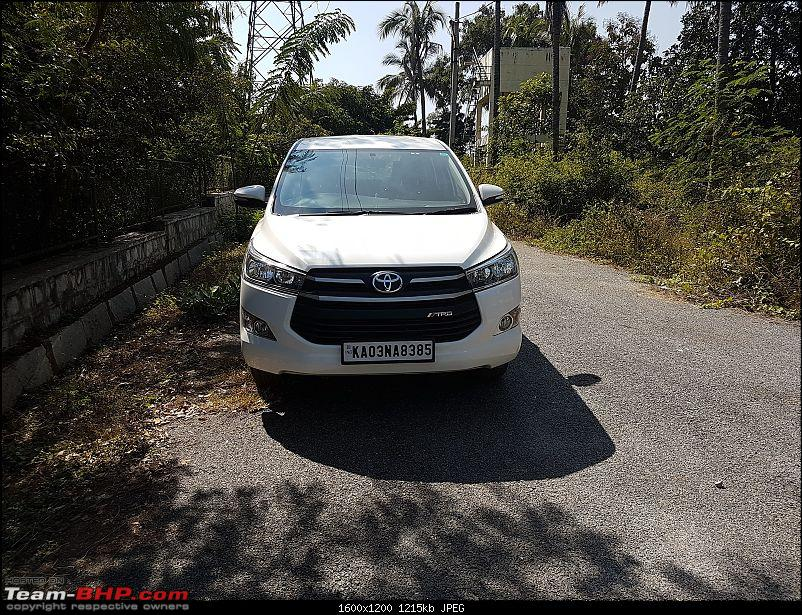 Toyota Innova Crysta 2.4 GX ownership review. EDIT: 10,000 km service done-front.jpg