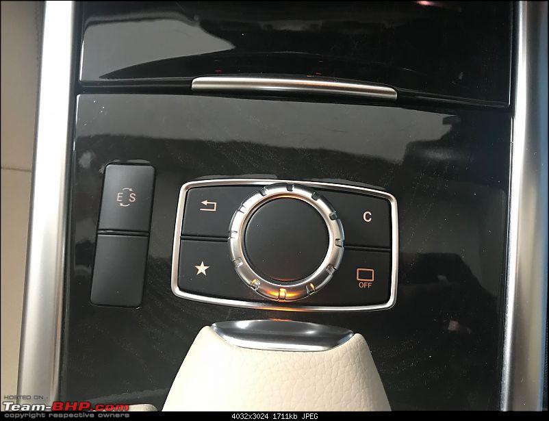 My Mercedes-Benz E350 CDI : The bad boy in a suit-4toggle-knob.jpg