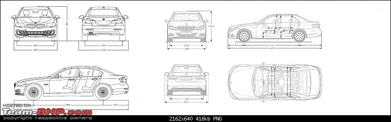 My Mercedes-Benz E350 CDI : The bad boy in a suit-bmw-5-series-vs-e350-dimensions.png