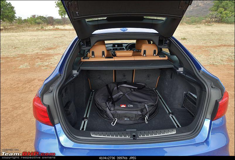 A GT joins a GT - Estoril Blue BMW 330i GT M-Sport comes home-boot-space-saver.jpg