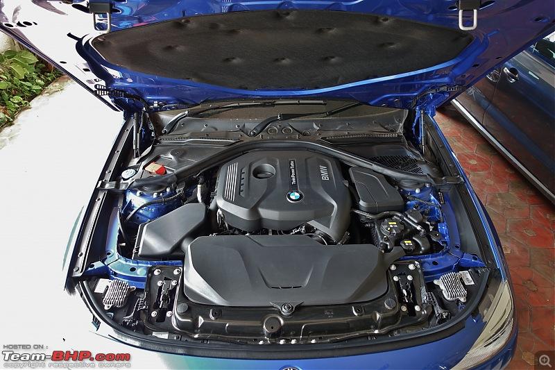 A GT joins a GT - Estoril Blue BMW 330i GT M-Sport comes home-engine-bay-wide.jpg