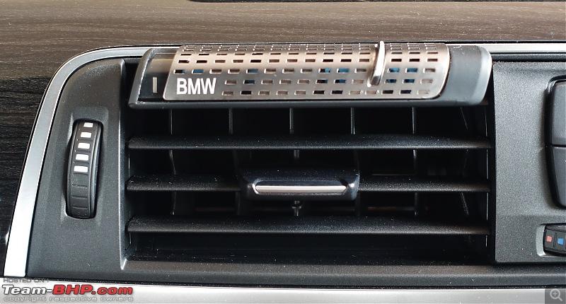 A GT joins a GT - Estoril Blue BMW 330i GT M-Sport comes home-bmw-air-freshner.jpg