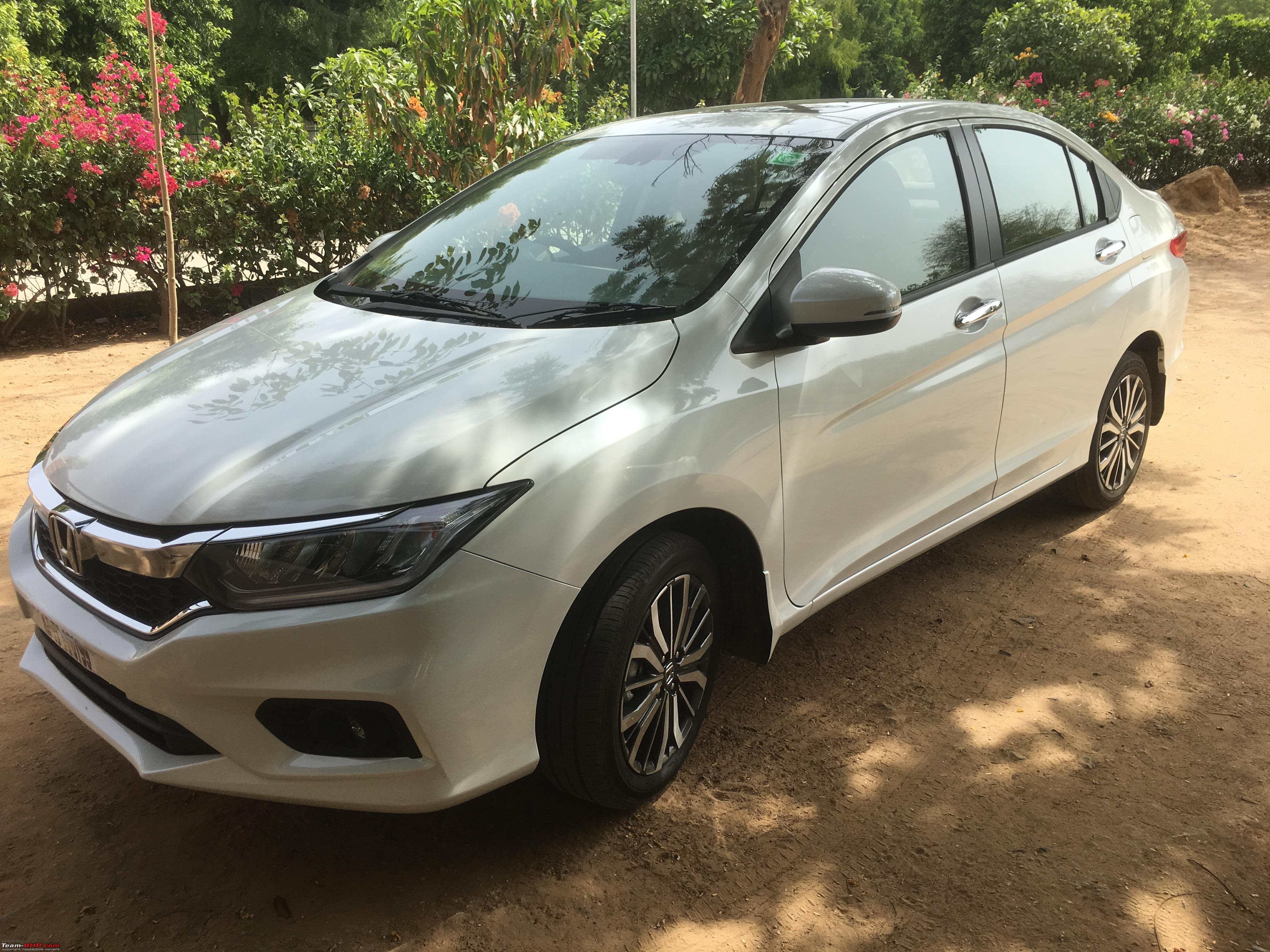 The Legacy Continues: White Orchid Pearl Honda City i-VTEC ZX Automatic-side