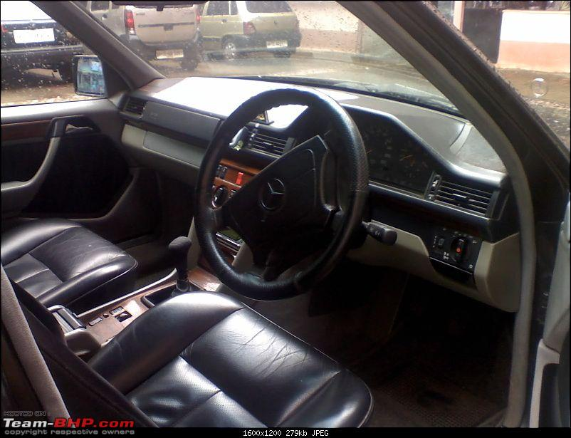 My DreamCar W124 E Class : Now Bought-250809_1055.jpg
