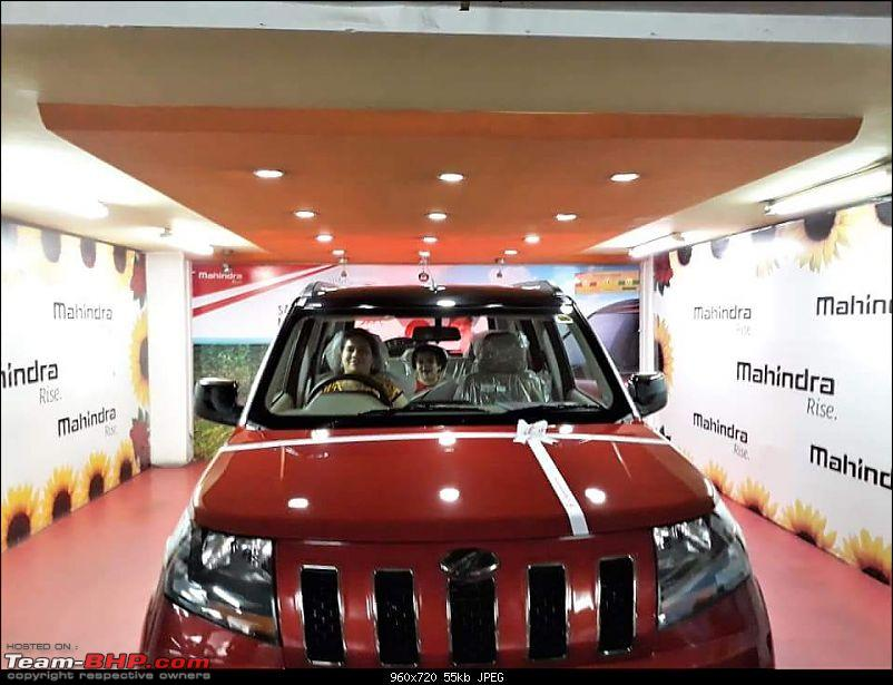 Purchasing my RedNBlack Truck - Mahindra TUV300 T10, the complete story-engine-start-.jpg