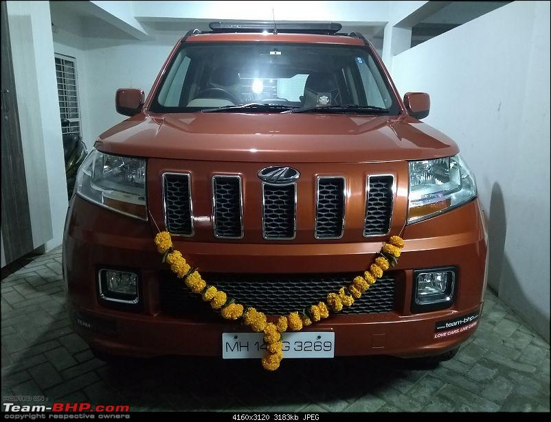Orange Tank to conquer the road - Mahindra TUV3OO owner's perspective-img_20181107_185631994.jpg