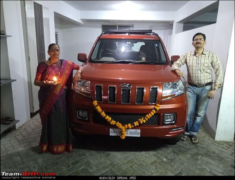 Orange Tank to conquer the road - Mahindra TUV3OO owner's perspective-img_20181107_185523637.jpg