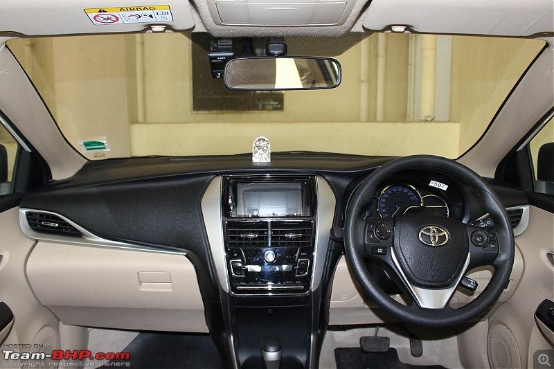 My 2018 Pearl White Toyota Yaris V CVT-dashboard.jpg