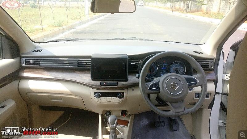 Review: My 2018 Maruti Suzuki Ertiga ZXi AT-3.-dashboard.jpg