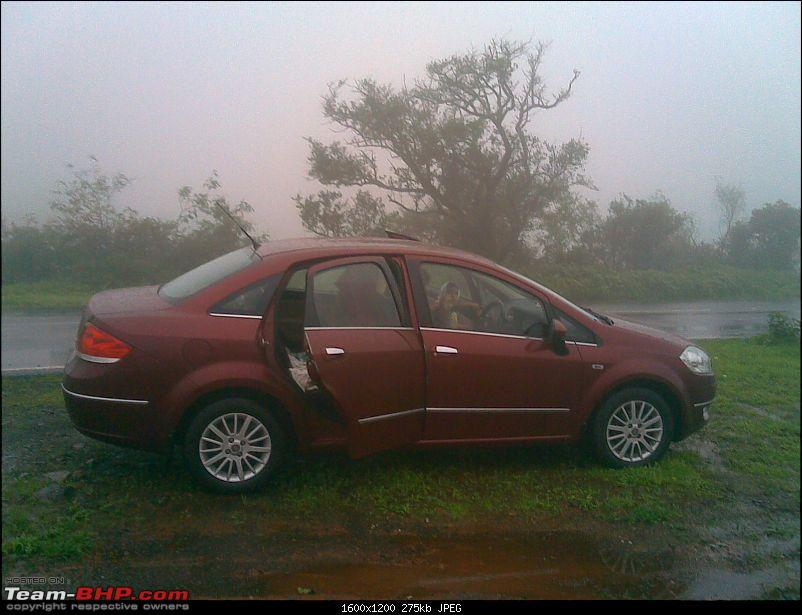Fiat Linea 1.4 FIRE Emotion Pack (Petrol) - My Dates with the RED Beauty !!!-20090828033.jpg