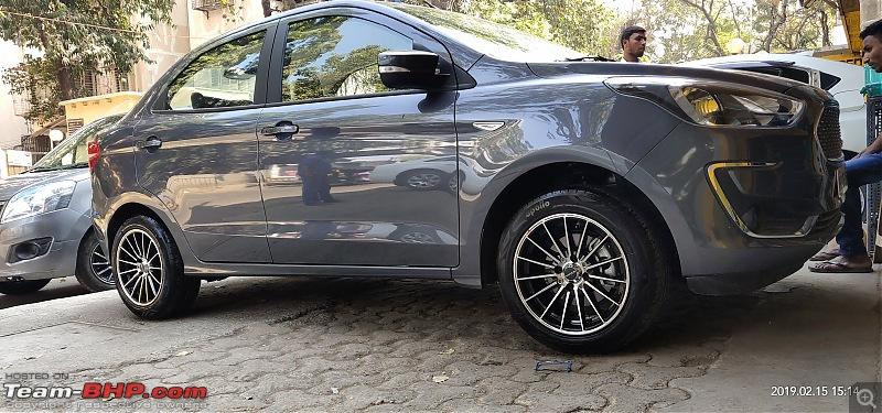 frankmehta tinkers again: Smoke Grey Ford Aspire TDCI Titanium+-img_20190215_151440.jpg