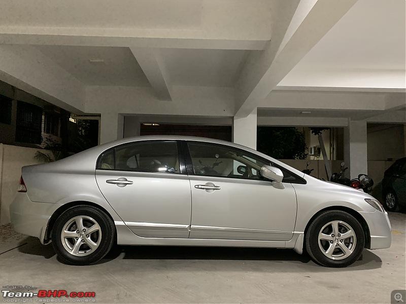 My pre-worshipped Honda Civic Automatic – A dream comes true-compass-curve.jpeg