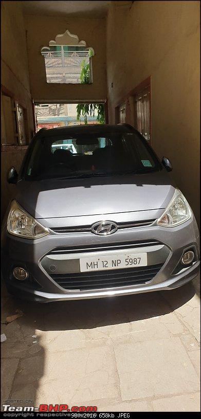 Lightning Blue Beast drives in: My Ford EcoSport Titanium S TDCi-grand-new-owner-parking.jpg