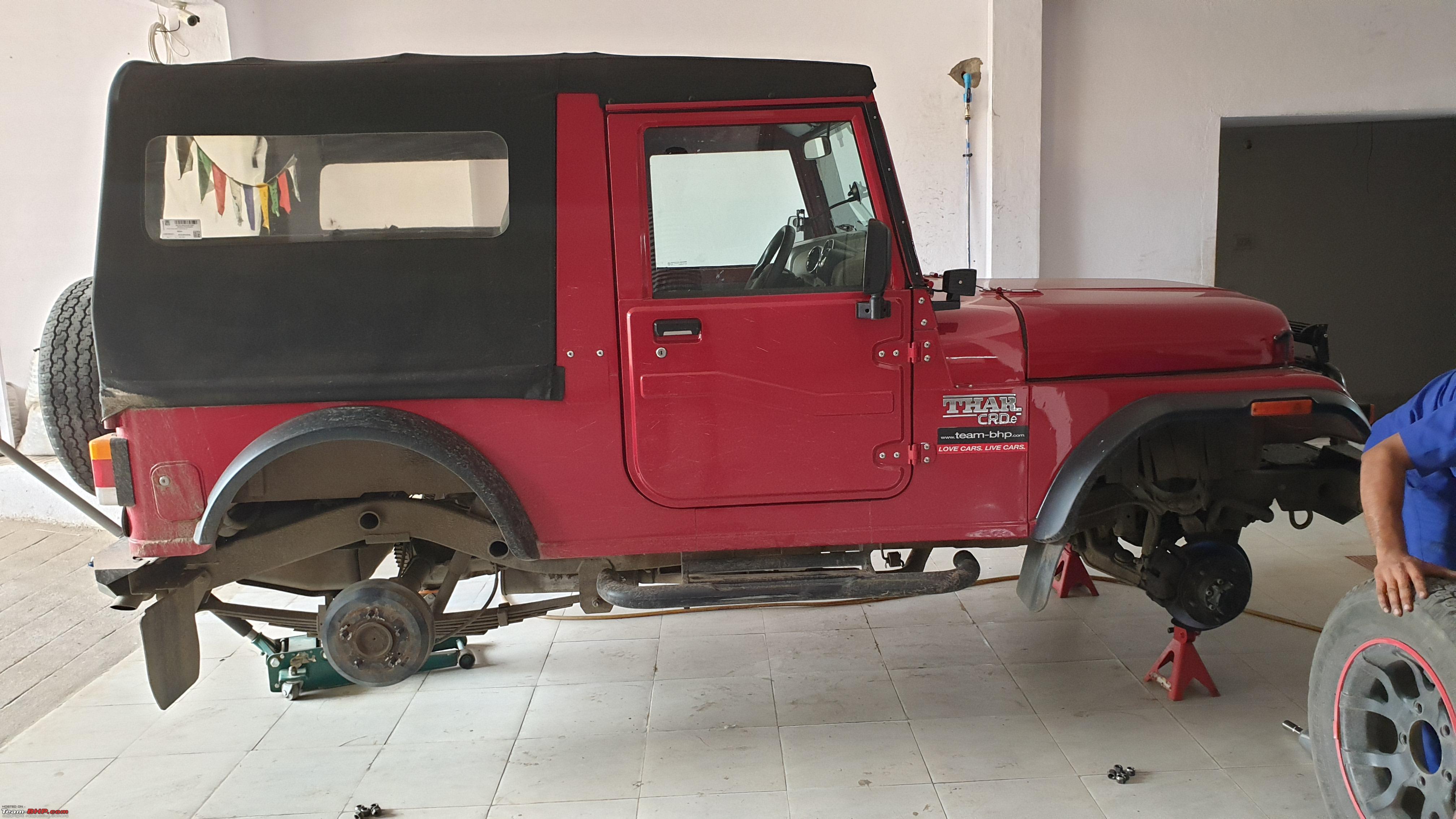 The Red Rhino - My Mahindra Thar CRDe 4x4 - Team-BHP