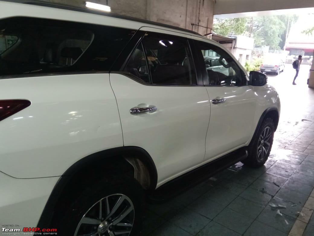 The Brute-Fort: My 2016 Toyota Fortuner 4x4 M/T, Now