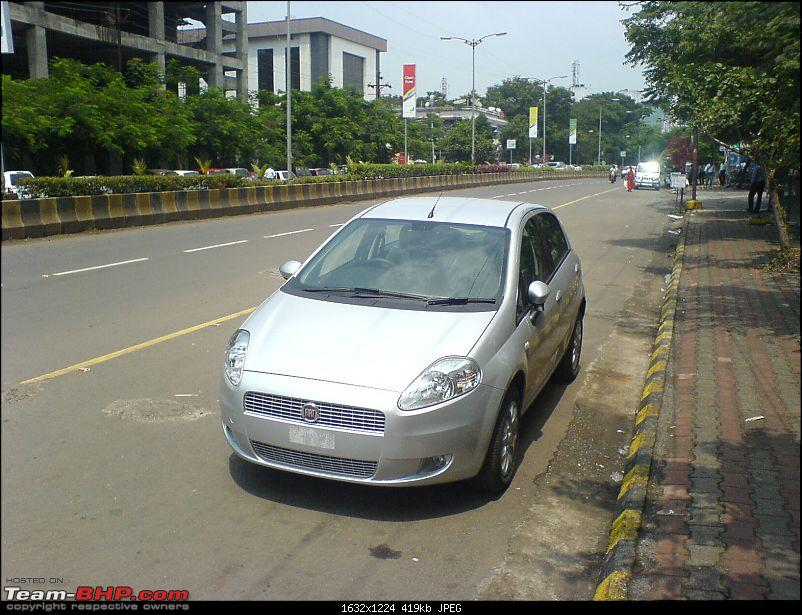 Fiat Punto 1.4 FIRE (Emotion Pack) from Pandit Auto (Pune). Edit: First Service done-dsc00232.jpg
