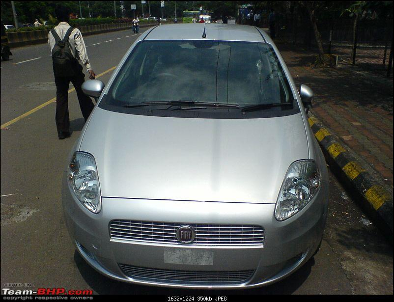 Fiat Punto 1.4 FIRE (Emotion Pack) from Pandit Auto (Pune). Edit: First Service done-dsc00233.jpg