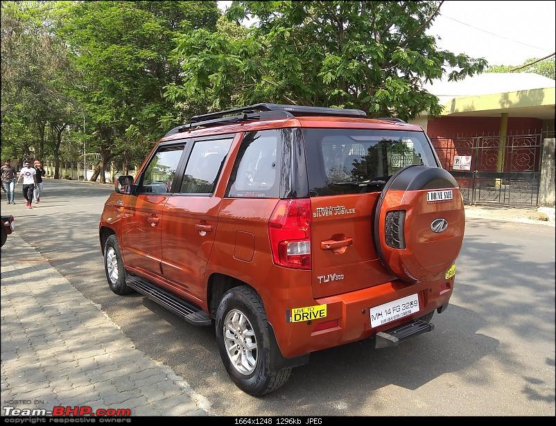 Orange Tank to conquer the road - Mahindra TUV3OO owner's perspective-img_20200301_142241332.jpg