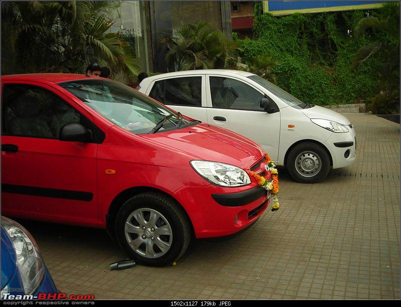 Passion Red Getz CRDi VGT - Now Delivered : 3000km Update-delivery4.jpg