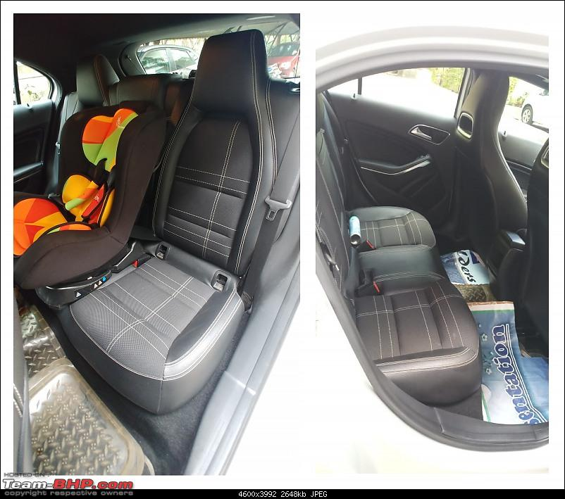 My pre-worshipped Mercedes A-Class (A180)-rearseat.jpg