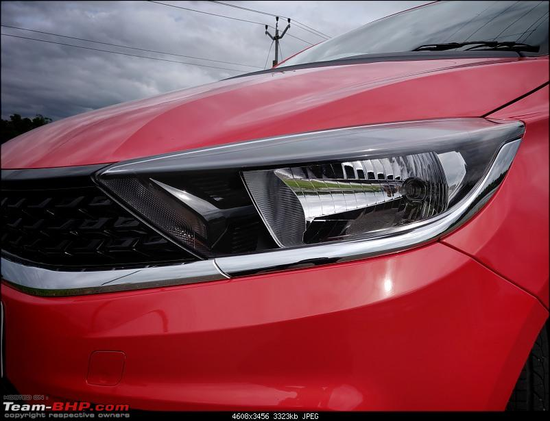 My 2020 Flame Red Tata Tiago XZA+ Automatic Review-headlights.jpg