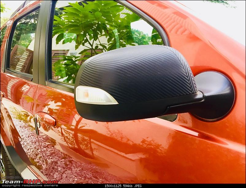 Sold my Nissan Terrano MT, bought a Renault Duster AMT-mirror1.jpg