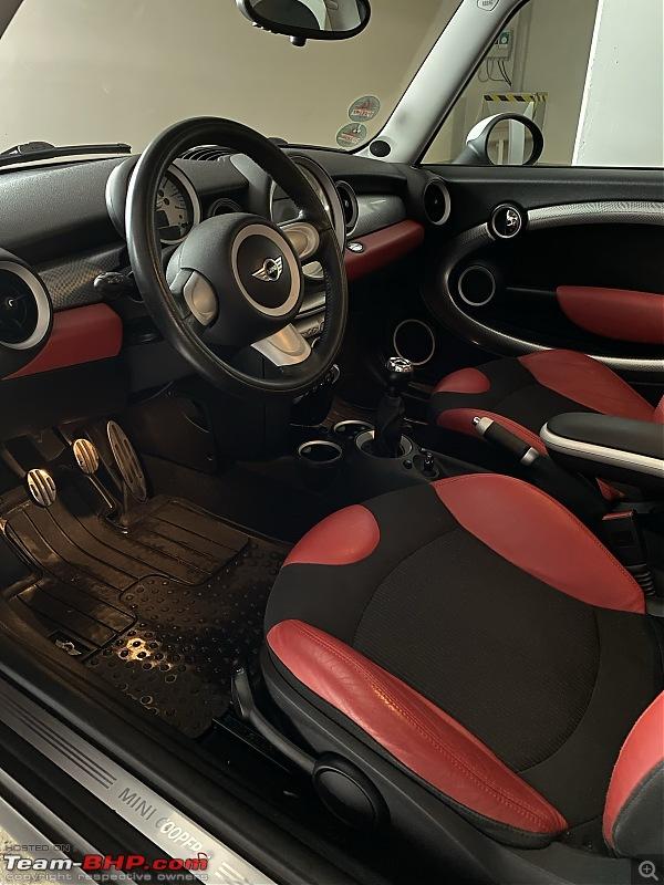 Review: My pocket rocket - Chilli Red Mini Cooper S-interior.jpg