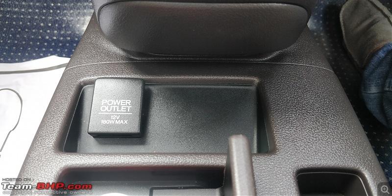 Heart over head! My pre-owned Honda CR-V 2.4L AWD-10-central-12v-socket-blank-space.jpg