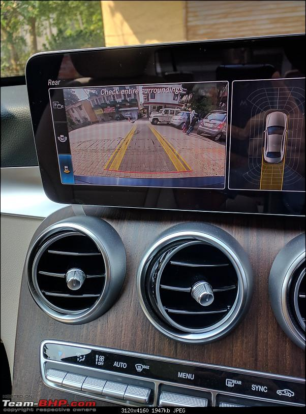Oh, say can you C? A review of my Dad's Mercedes C-Class (C200 W205)-reverse-camera1.jpg