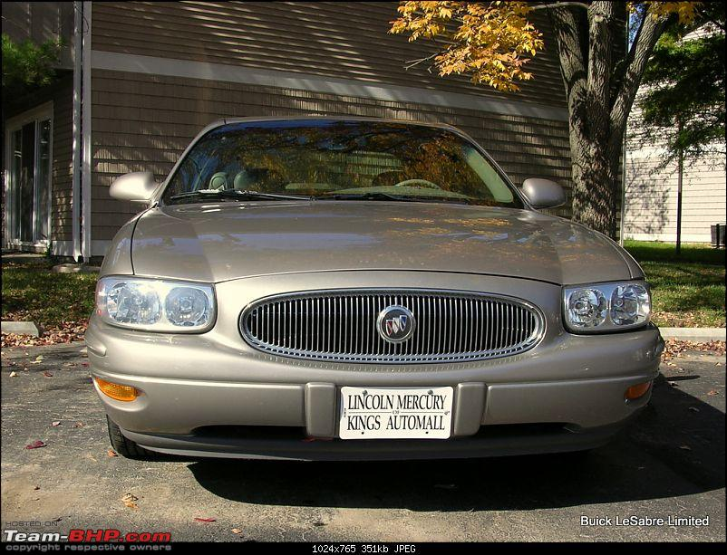 My First Car in America: 2002 Buick LeSabre Limited-dscn5912.jpg