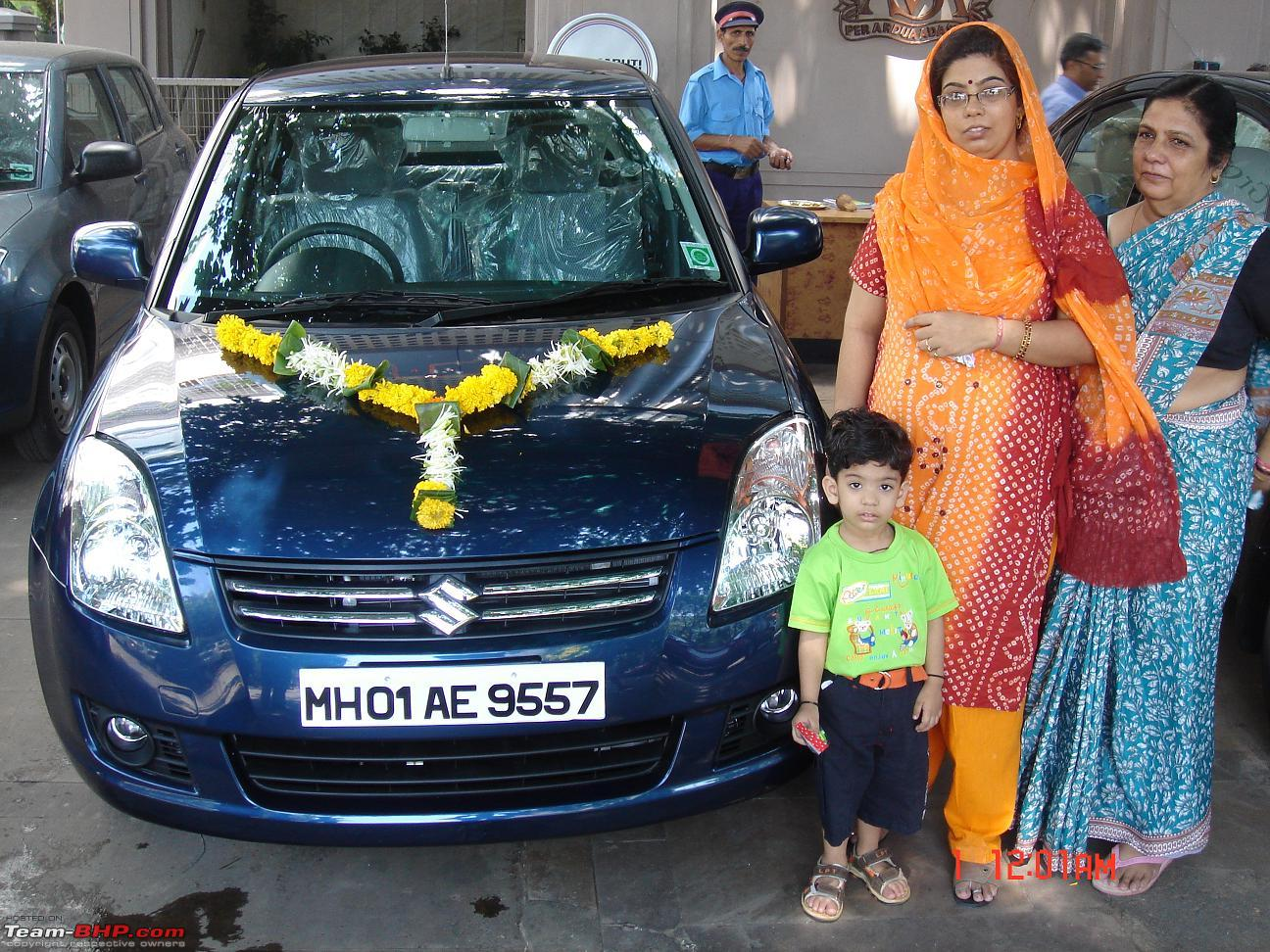 blue swift dzire