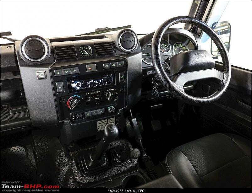 The heartbeat of BlackPearl   Land Rover Defender 90 Review-dashboard_1.jpg
