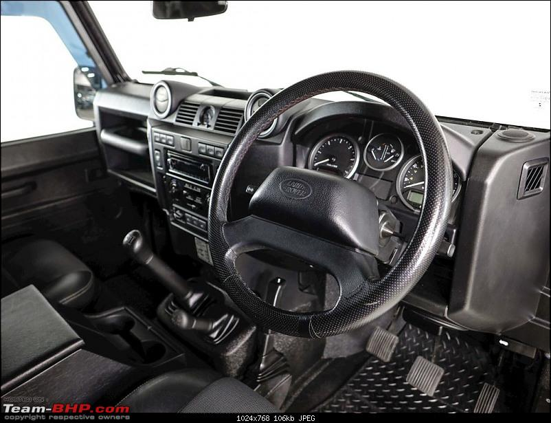 The heartbeat of BlackPearl   Land Rover Defender 90 Review-dashboard3.jpg