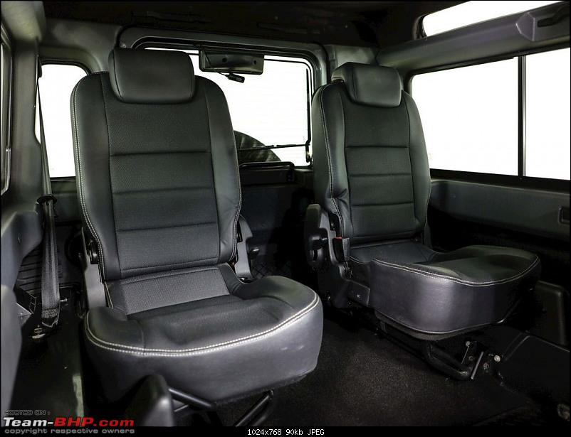 The heartbeat of BlackPearl   Land Rover Defender 90 Review-rear-seats.jpg