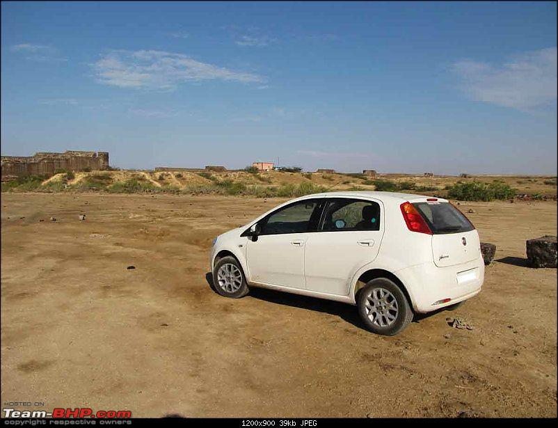 my experience with punto1.4E+ done 3500km-rear.jpg