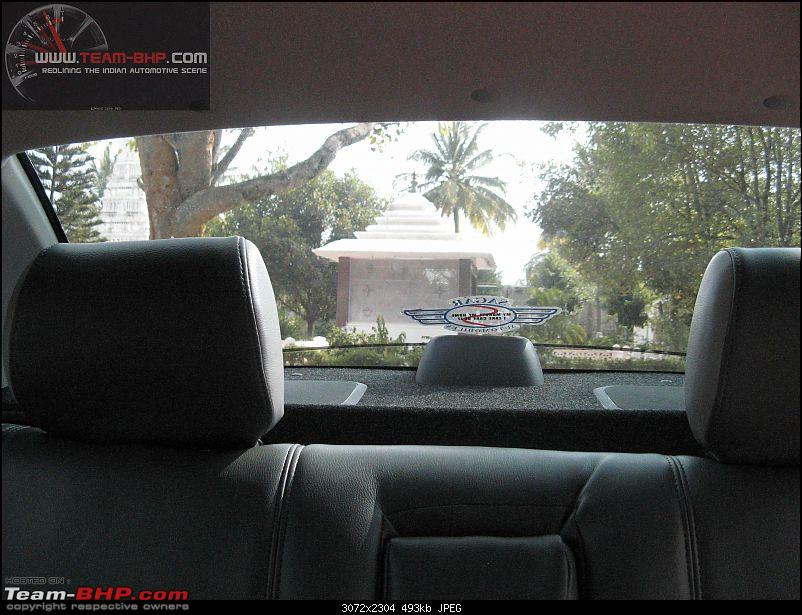 The DZire Pit Stop: My VDI, EDIT:5000 km update-rearview.jpg