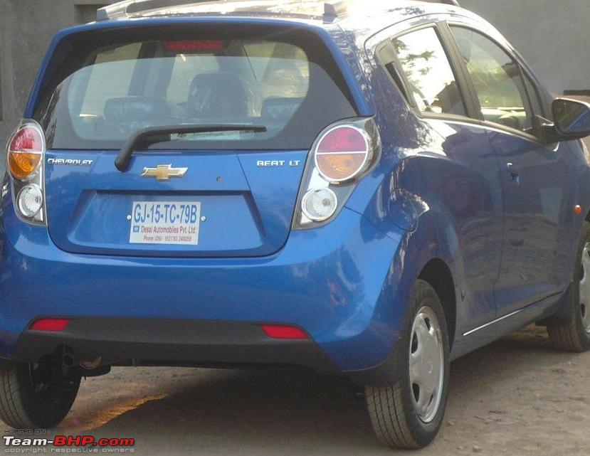 My new Blue Chevrolet Beat - Initial Report - Team-BHP