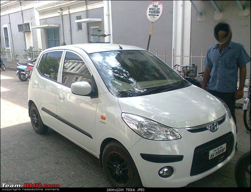 My Cute Little White Eye Ten At Hyundai I10 At Sportz