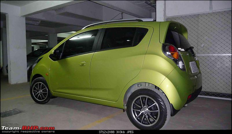 Chevrolet Beat LT Cocktail Green: Initial ownership report-34.jpg