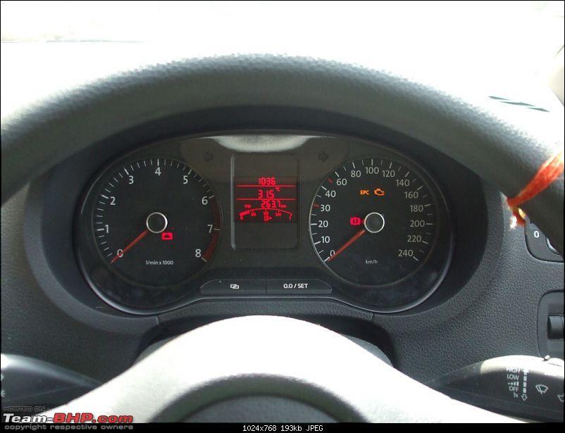 My horribly unreliable VW Polo. VW Moti Nagar fails again to rectify the problem!-dscf0849.jpg