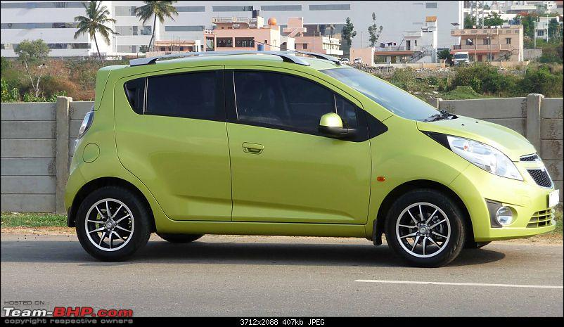 Chevrolet Beat LT Cocktail Green: Initial ownership report-55.jpg