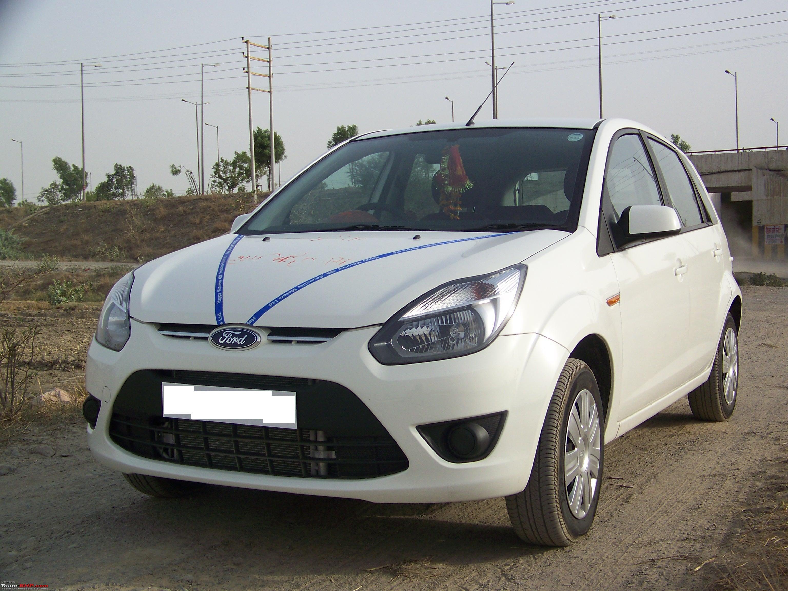 Ford Figo 1 4 Tdci Titanium My First Car It S White