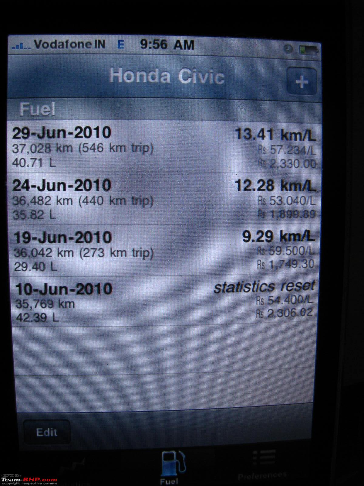 Yet Another Pre Owned Honda Civic Page 7 Team Bhp 2007 Fuel Filter Img 2713