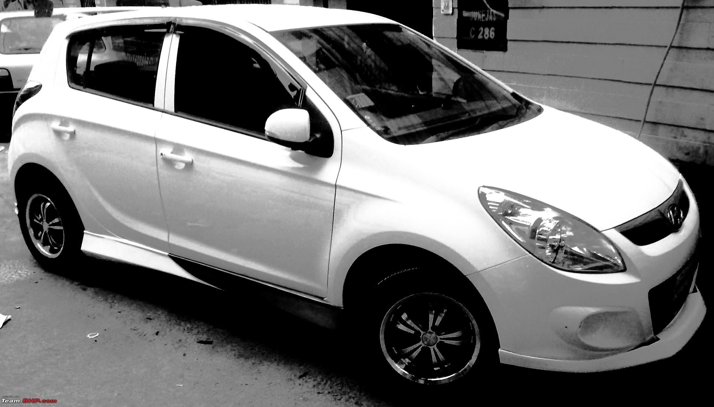 My Modified Hyundai I20 Team Bhp