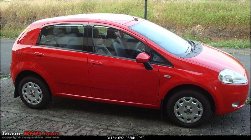 My  Grande Punto 1.4 Emotion in Red has arrived :Initial ownership & review-dsc01488.jpg